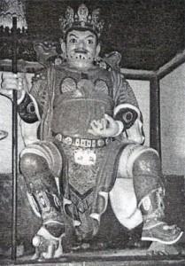 Klášter Amarbayasgalant - Ochranné božstvo čtyř světadílů.