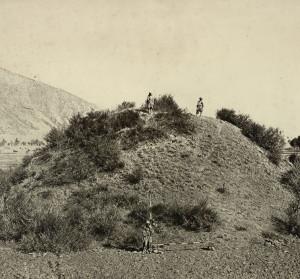Ruiny buddhistické stúpy v Kašmíru