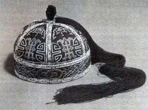 Mongolská čepice.