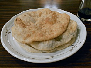 Smažené mongolské taštičky Chuušuur