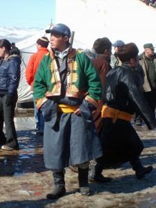 Mongolské oblečení