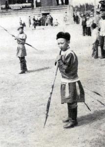 Mongolský lukostřelec