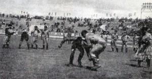 Mongolští zápasníci