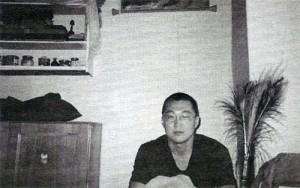 Burjatský buddhistický mnich