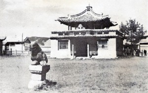 Chrám v klášteře Erdene Zuu