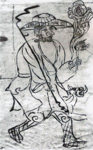 Čínský mnich poutník