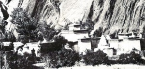 Skvost Ladacké klášterní architektury Alči-čhökhor v Alči.