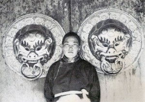 Láma v klášteře Erdene Zuu