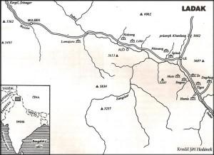 Mapa Ladaku