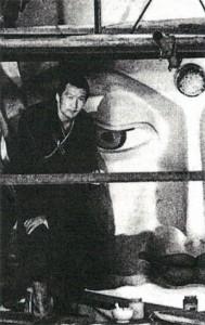 Mongolský malíř malíř N. Cültem