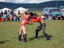 Mongolský zápas.
