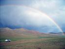 Duha v Mongolsku.