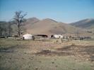 Mongolská farma.