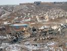 Hřbitov v Ulaanbaataru.