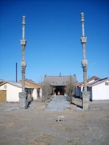 Ženský buddhistický klášter Dari Echiin sum v Ulaanbaataru.