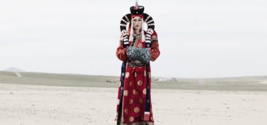 Nyamka jako mongolská královna